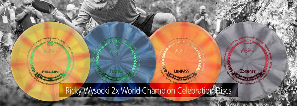 2X Ricky Wysocki Celebration Discs