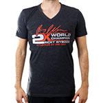 Ricky Wysocki 2x Champ V-neck T-Shirt