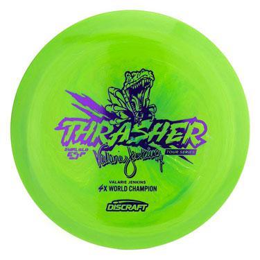 ESP Thrasher Glo Swirl Valarie Jenkins