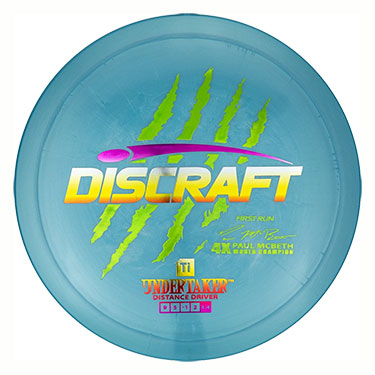 Ti Undertaker Paul McBeth First Run