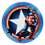 Felon DyeMax Captain America Star Badge