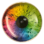 Gauntlet DyeMax Colorful Eye
