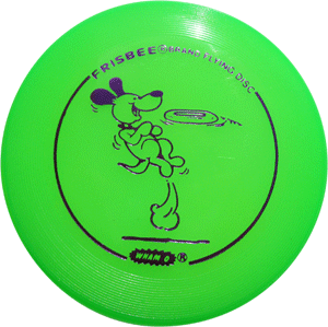 Mini Frisbee Dog Jumping