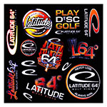 Latitude 64 Stickers