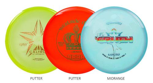 Discsports Advanced Set (6 disc)